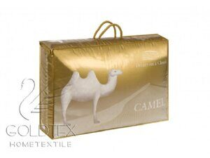 1055 Одеяло 1,5сп  GOLDEN CAMEL